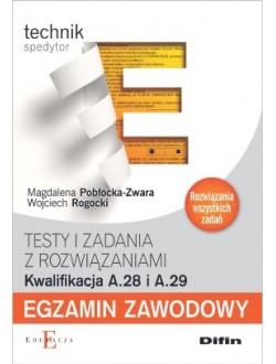 Egzamin zawodowy Technik spedytor A.28 i A.29