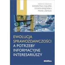 Ewolucja sprawozdawczości a potrzeby informacyjne interesariuszy