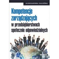 Kompetencje zarządzających w przedsiębiorstwach społecznie odpowiedzialnych