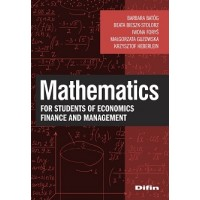 Mathematics for students of economics, finance and management