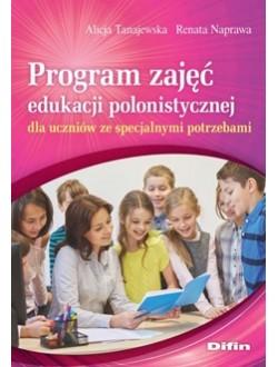 Program zajęć edukacji polonistycznej dla uczniów ze specjalnymi potrzebami