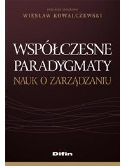 Współczesne paradygmaty nauk o zarządzaniu