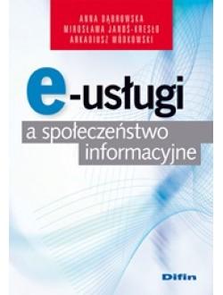 E-usługi a społeczeństwo informacyjne
