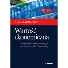 Wartość ekonomiczna w systemie informacyjnym rachunkowości finansowej 50% rabatu