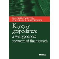 Kryzysy gospodarcze a wiarygodność sprawozdań finansowych 50% rabatu