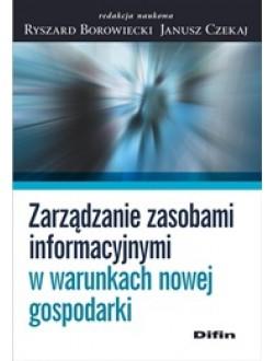 Zarządzanie zasobami informacyjnymi w warunkach nowej gospodarki
