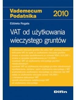 VAT od użytkowania wieczystego gruntów 75% rabatu