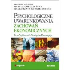 Psychologiczne uwarunkowania zachowań ekonomicznych. Przedsiębiorczość, pieniądze, konsumpcja 50% rabatu