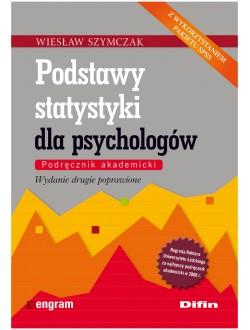Podstawy statystyki dla psychologów. Podręcznik akademicki. Wydanie drugie poprawione  50% rabatu