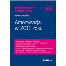 Amortyzacja w 2011 roku