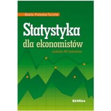 Statystyka dla ekonomistów. Wydanie 3 zmienione