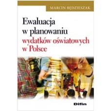 Ewaluacja w planowaniu wydatków oświatowych w Polsce 50% rabatu