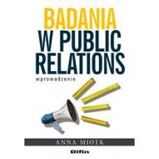 Badania w public relations. Wprowadzenie