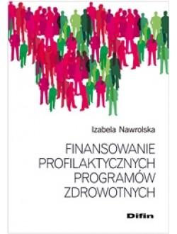 Finansowanie profilaktycznych programów zdrowotnych