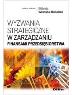 Wyzwania strategiczne w zarządzaniu finansami przedsiębiorstwa