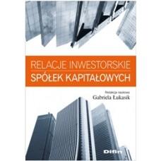 Relacje inwestorskie spółek kapitałowych