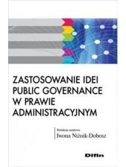 Zastosowanie idei public governance w prawie administracyjnym