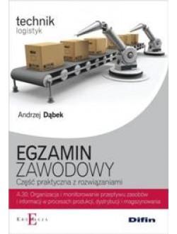 Egzamin zawodowy Technik logistyk A.30