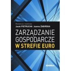 Zarządzanie gospodarcze w strefie euro