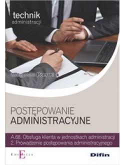 Postępowanie administracyjne A.68.2