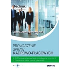 Prowadzenie spraw kadrowo-płacowych A.35.2