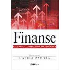 Finanse kategorie zjawiska i procesy podmioty