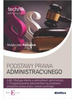 Podstawy prawa administracyjnego A.68.1