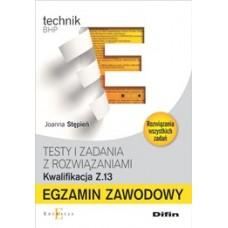 Egzamin zawodowy Technik BHP Z.13