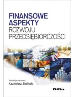 Finansowe aspekty rozwoju przedsiębiorczości