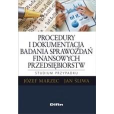 Procedury i dokumentacja badania sprawozdań  finansowych przedsiębiorstw. Studium przypadku