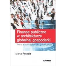 Finanse publiczne w architekturze globalnej gospodarki