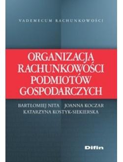 Organizacja rachunkowości podmiotów gospodarczych