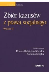 Zbiór kazusów z prawa socjalnego. Wydanie 2