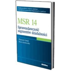 MSR 14. Sprawozdawczość segmentów działalności 50% rabatu