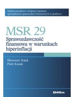 MSR 29. Sprawozdawczość finansowa w warunkach hiperinflacji 50% rabatu