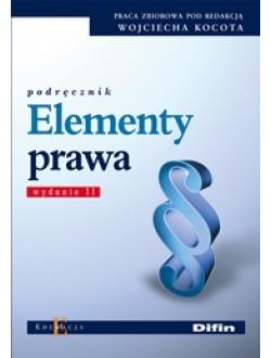 Elementy prawa. Wydanie 2