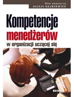 Kompetencje menedżerów w organizacji uczącej się