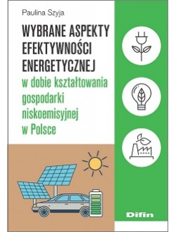 Wybrane aspekty efektywności energetycznej w dobie kształtowania gospodarki niskoemisyjnej w Polsce