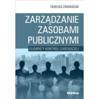 Zarządzanie zasobami publicznymi. Elementy kontroli zarządczej